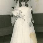 Primera comunión de Rocío, 1965
