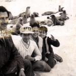 En Galápagos con mi papá y mi hermano, 1968