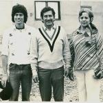 Con mis padres en Manglaralto 1976