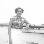 Carmen María, mi madre. Guayaquil - 1956