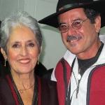 Con Joan Baez, 2012