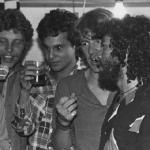 Chelo, Dany, Alex y Napo, 1985