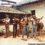 Chelo, Dany, Hugo y Napo, 1986