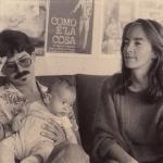Con Rocío y Lorenzo, 1987