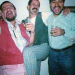De gira en Chile con Hernán Martínez y Napo, 1996