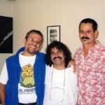 Con el negro Acosta, 1998