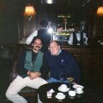 Con Leo Dan en Chile, 1994