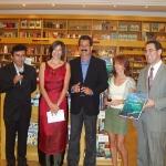 Presentación de mi libro Galápagos Huellas en el Paraíso, 2005