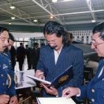 Presentación de mi libro Fuerza Aérea Ecuatoriana, Historia Ilustrada, 1999